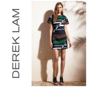 Derek Lam DesigNation Striped Dress